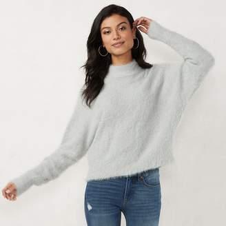 Lauren Conrad Women's Mockneck Dolman Sweater