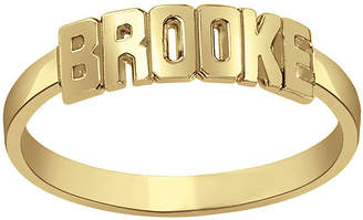 FINE JEWELRY Personalized Block Name Ring