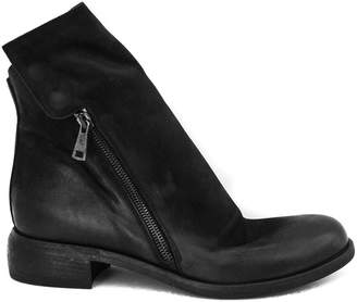 Strategia Ankle Boot In Black Suede.