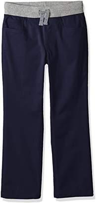 Spotted Zebra Toddler Boys' Knit Waistband 5-Pocket Pants