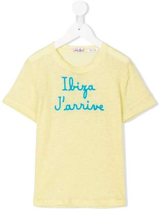 MC2 Saint Barth Kids Ibiza J'arrive T-shirt