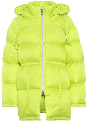 Acne Studios Hooded nylon down jacket
