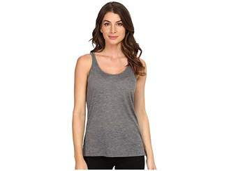 Alternative Melange Burnout Jersey Airy Tank Top Women's Sleeveless