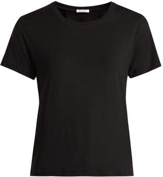 Tomas Maier Round Neck T Shirt - Womens - Black