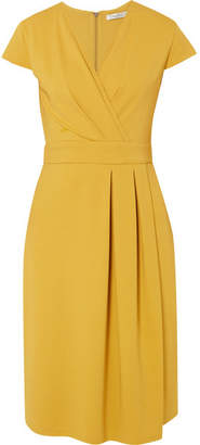 Max Mara Wrap-effect Stretch-jersey Dress