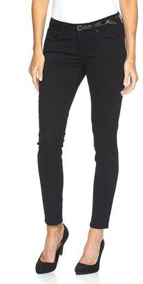 Women's Apt. 9® Modern Fit Sateen Skinny Pants $44 thestylecure.com