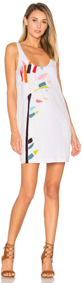 Mara Hoffman Embroidered Mini Dress $350 thestylecure.com