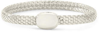 JCPenney MONET JEWELRY Monet Silver-Tone Magnetic Closure Bracelet