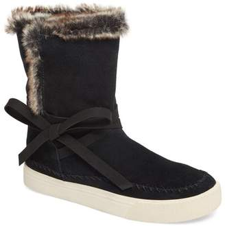 Toms Vista Faux Fur Lined Suede Boot
