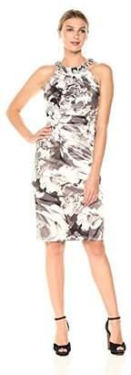 Eliza J Women's Floral Sheath Dress