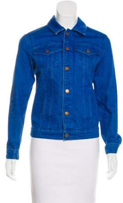 MiH Jeans Button-Up Denim Jacket