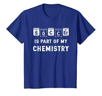 Soccer Player Periodic Table Funny Shirt