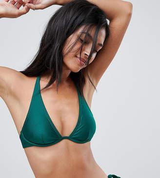 South Beach Monowire High Shine Bikini Top