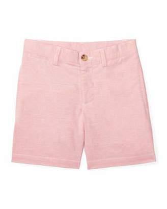 Ralph Lauren Childrenswear Suffield Stretch Oxford Shorts, BSR Pink, Size 2-4 $39.50 thestylecure.com