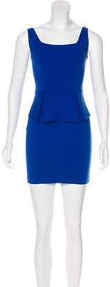 Robert Rodriguez Peplum Sheath Dress