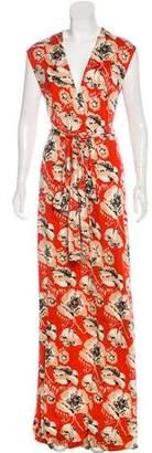 Tory Burch Silk Maxi Dress