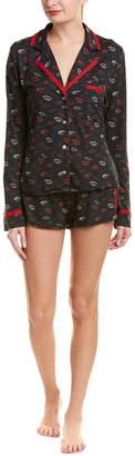 Cosabella Bella 2Pc Top & Boxer Pajama Set