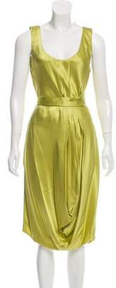 Basso & Brooke Silk Midi Dress