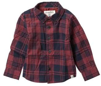 Sovereign Code Peck Plaid Button Up Top (Baby Boys)