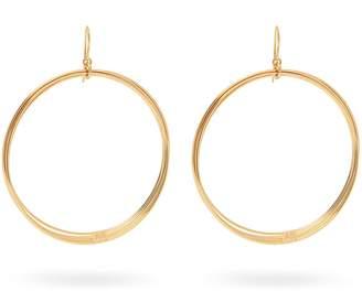 Aurelie Bidermann Thalia gold-plated multi hoop earrings
