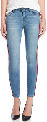 Dollhouse Side Stripe Ankle Skinny Jeans