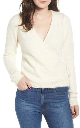 Love By Design Wrap Front Sweater