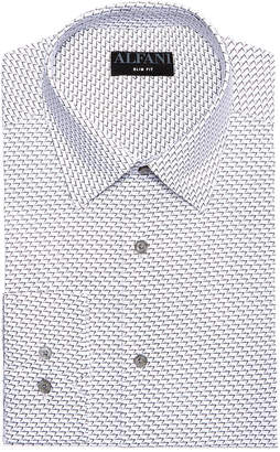 Alfani AlfaTech by Men's Slim-Fit Dot Seven Dress Shirt, Created For Macy's