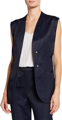 Rachel Comey Circuit Belted Snap-Front Vest