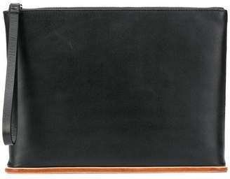 Building Block Wristlet clutch bag