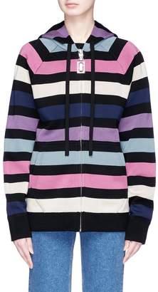 Marc Jacobs Stripe zip hoodie