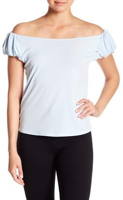 Cynthia Steffe CeCe by Puffed Off-the-Shoulder Blouse