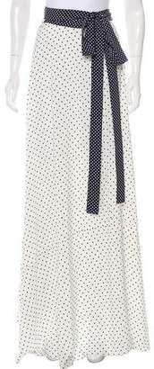 Alexis Printed Chiffon Maxi Wrap Skirt