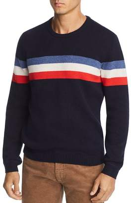 Bloomingdale's The Men's Store at Striped Merino Wool Sweater - 100% Exclusive