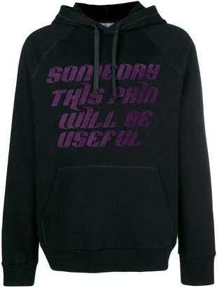 Lanvin useful pain print hoodie