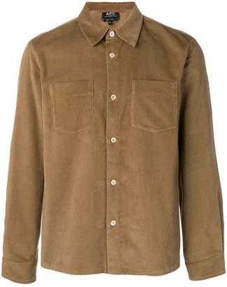 A.P.C. corduroy shirt jacket