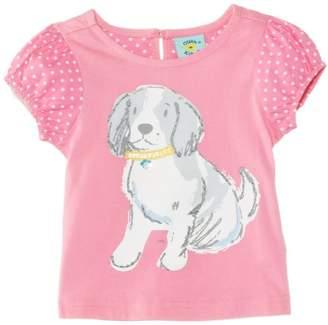 Yumi Uttam Girl's Pooch T-Shirt
