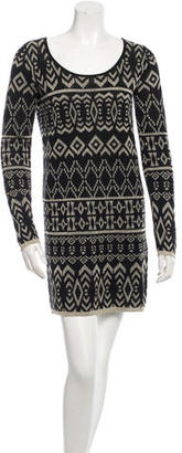 Alice by Temperley Patterned Long Sleeve Dress $85 thestylecure.com