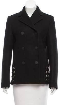 Paco Rabanne Embellished Wool Jacket