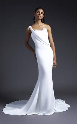 Cushnie Bridal Georgia One Shoulder Gown