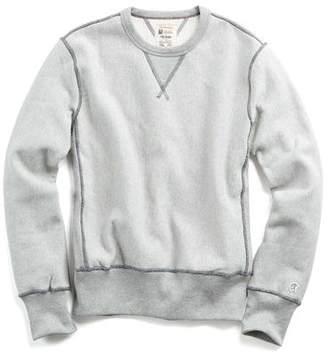 Todd Snyder + Champion Reverse Weave Sweatshirt in Grey Mix