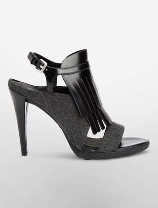 Calvin Klein marin sling back heel