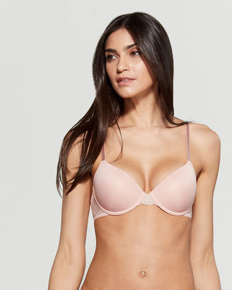 Maidenform Two-Pack Lace Trim Push-Up Bra