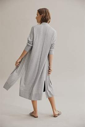 Country Road Wool Cotton Open Cardigan