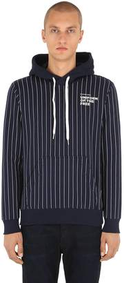G Star Uotf Core Hooded Striped Sweatshirt