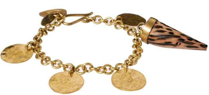 Orelia Made For Coin & Tusk Charm Bracelet