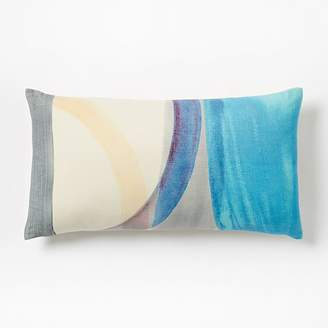 west elm Silk Watercolor Pillow Covers