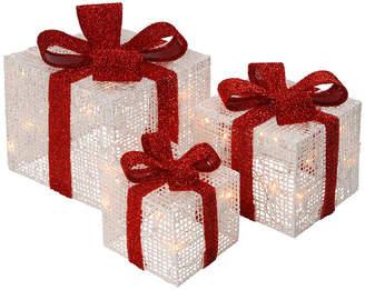 National Tree Co Pre Lit Thread Gift Box Assortment