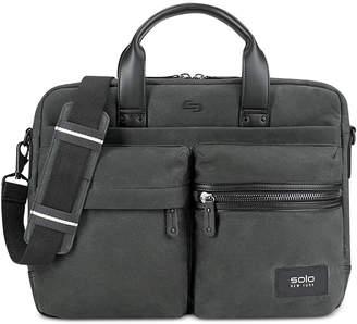Solo Men's Hamish Waxed Cotton Briefcase