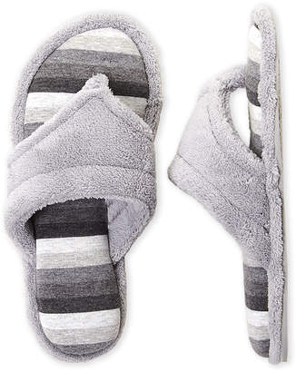 Dearfoams Terry Cloth Thong Slippers