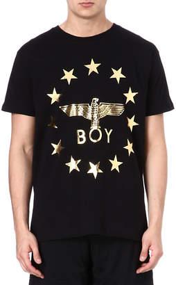 Boy London Star-detailed logo t-shirt